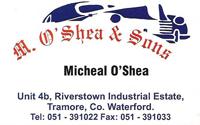 M. O'shea & Sons Garage