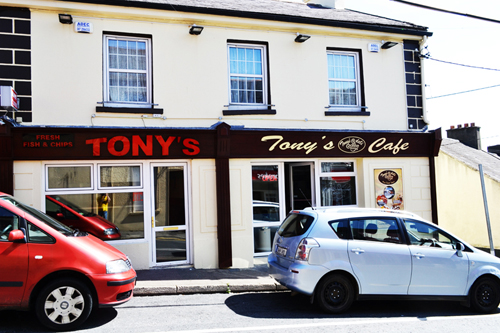 tonys take away